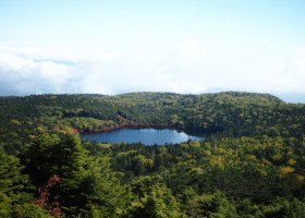 高見石から白駒池