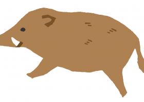 猪イラスト