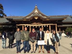 寒川神社 初詣2019